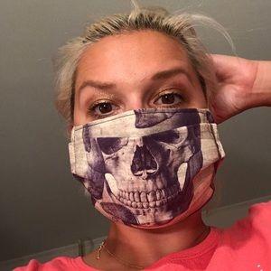 Creepy skull face mask Halloween skeleton doctor💀
